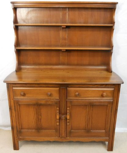 Ercol Elm Welsh Dresser Golden Dawn Finish